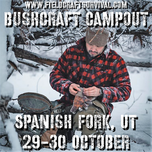 Bushcraft Campout: 29-30 October, 2021
