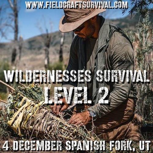Wilderness Survival Level 2: 4 December 2021 (Spanish Fork, UT)