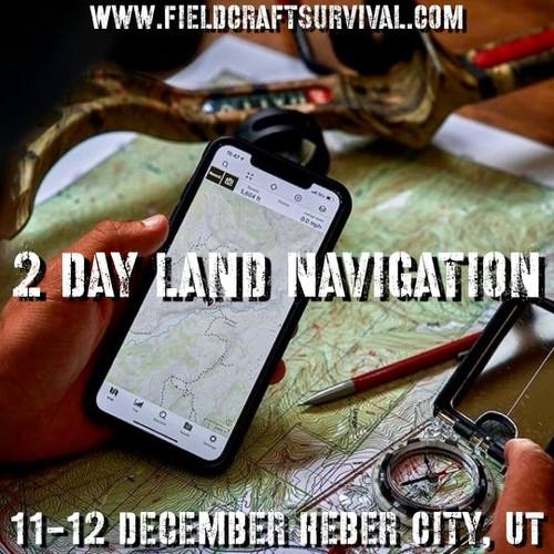 2 Day Land Navigation: 11-12 December 2021 (Heber City, UT)