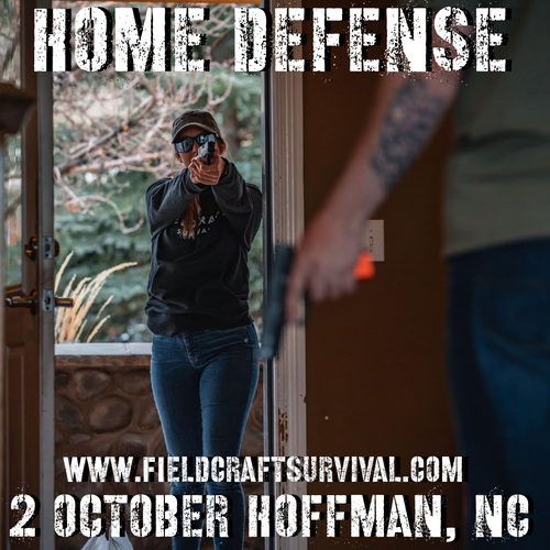 Home Defense Strategy: 2 October 2021 (Hoffman, NC)