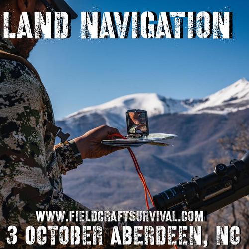 Land Navigation: 3 October 2021 (Aberdeen, NC)