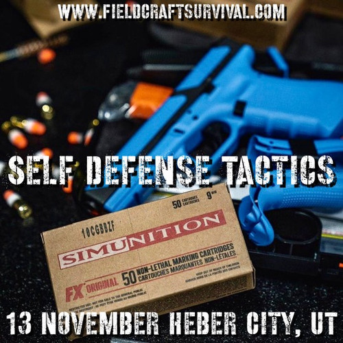 Self Defense Tactics: 13 November 2021 (Heber City, UT)