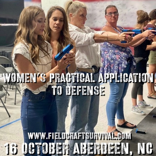Womens Practical Application to Defense: 16 October 2021 (Hoffman, NC)