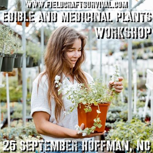 Edible and Medicinal Plants Workshop: 25 September 2021 (Hoffman, NC)