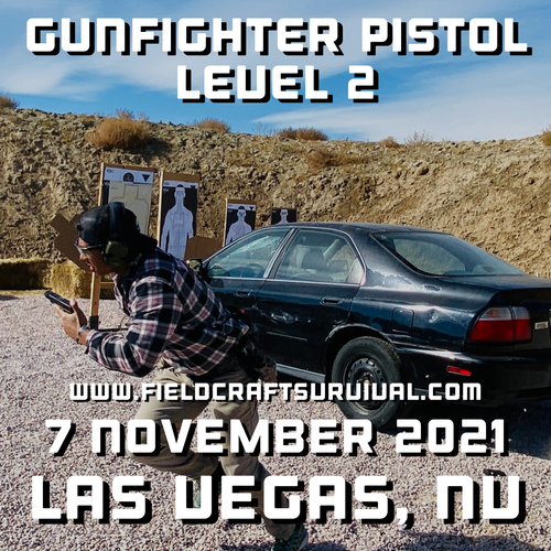 Gun Fighter Pistol Level 2: 7 November 2021 (Las Vegas, NV)