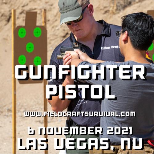 Gun Fighter Pistol Level 1: 6 November 2021 (Las Vegas, NV)