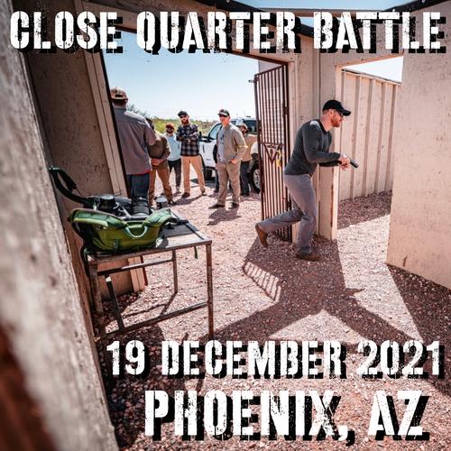 Close Quarters Battle Level 1: 19 December 2021 (Phoenix, AZ)