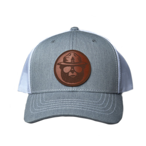 Leather Patch Bear Hat (Youth)