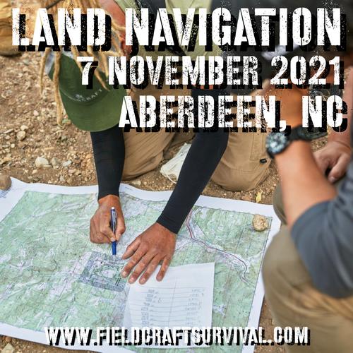 Land Navigation: 7 November 2021 (Aberdeen, NC)