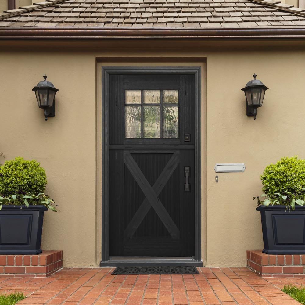 Craftsman 3068 Marginal 6 Lite SDL Mahogany Dutch Door