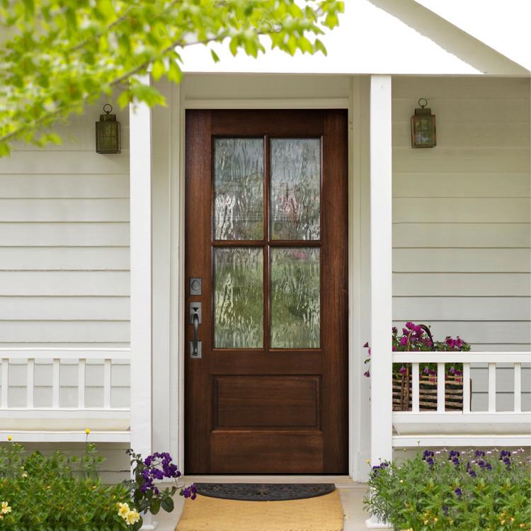 4 Lite TDL Wood Door