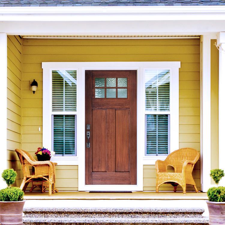 6 Lite Craftsman Fiberglass Door
