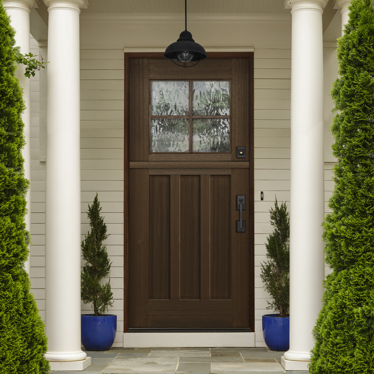 Craftsman 3068 4 Lite SDL Mahogany Dutch Door