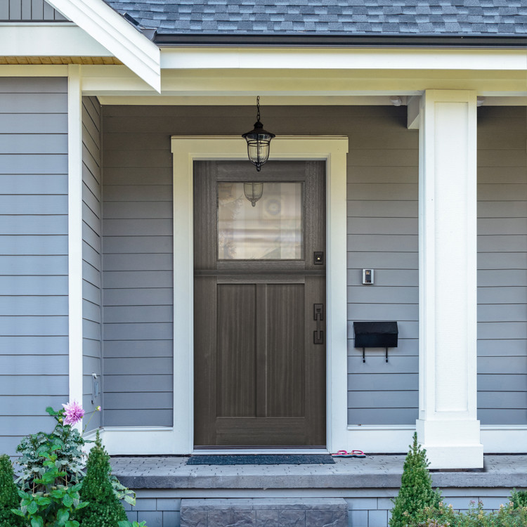 Craftsman 3068 1 Lite SDL Mahogany Dutch Door