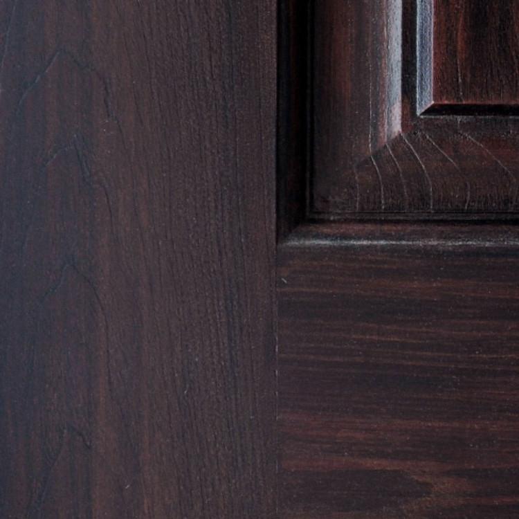Rosewood Antique Fiberglass Finish Sample