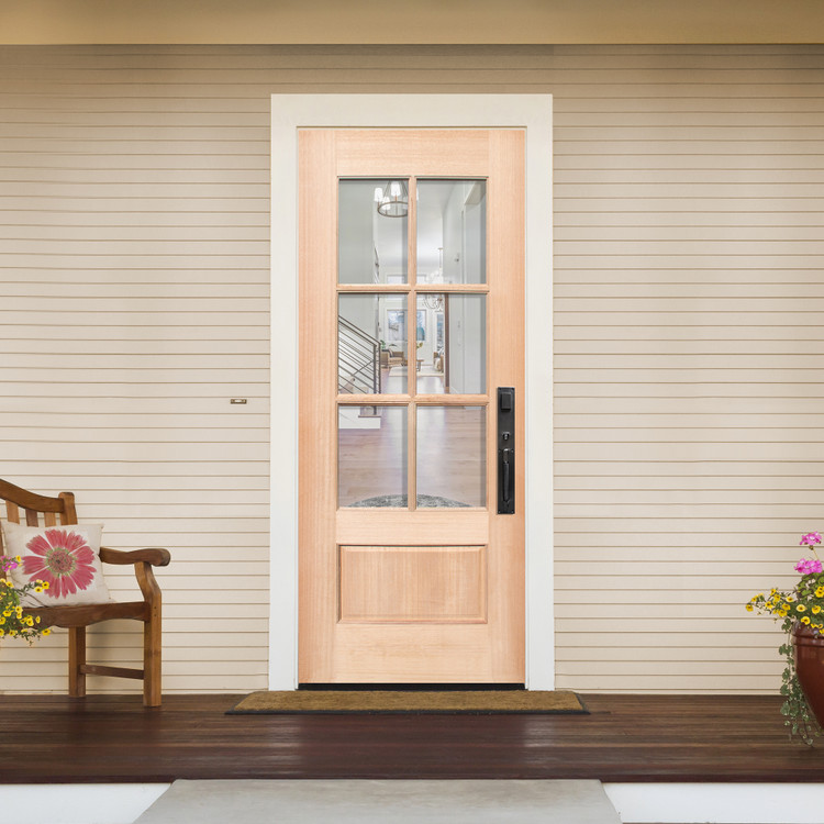 6 Lite TDL Wood Door