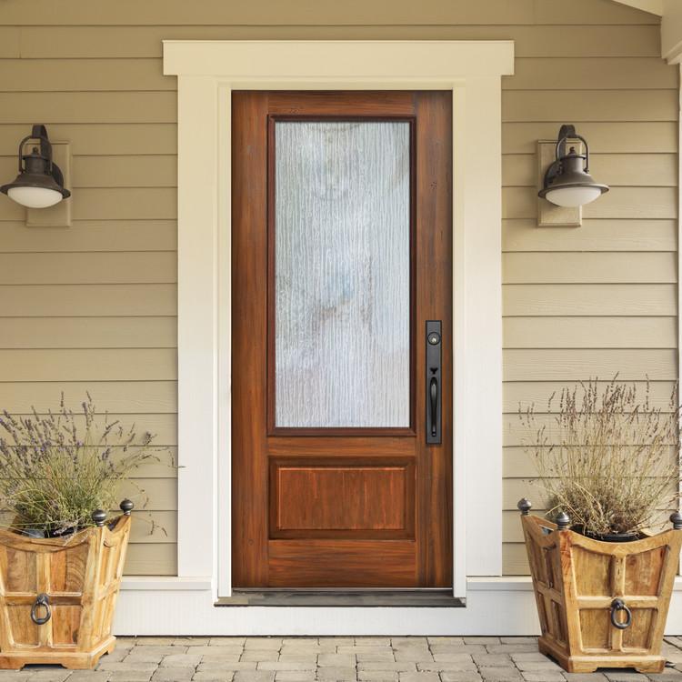 3/4 Lite Fiberglass Door