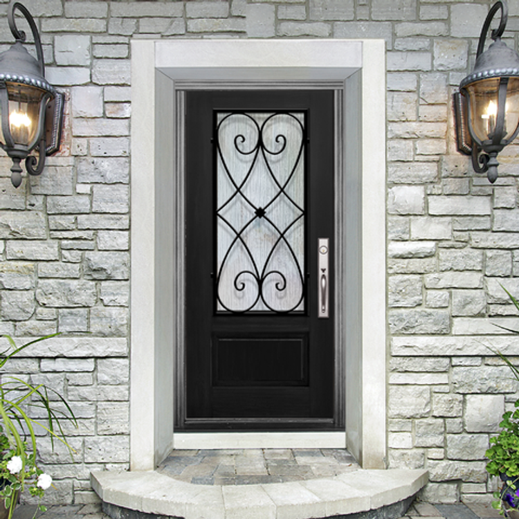 Charleston Fiberglass Door