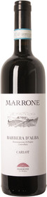 "Piero Marrone 2017 Barbera d'Alba ""Carlot"" 750ml"