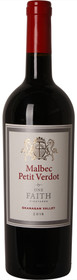Fortune Cellar 2016 One Faith Malbec Petite Verdot 750ml