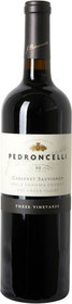 "Pedroncelli 2016 Cabernet Sauvignon ""Three Vineyards"" 750ml"
