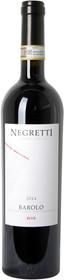 """Negretti 2014 Barolo """"Rive"""" 750ml"""