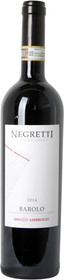 """Negretti 2014 Barolo """"Bricco Ambrogio"""" 750ml"""