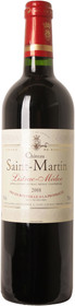 Chateau Saint Martin 2008 Listrac Rouge 750ml
