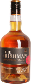 The Irishman Founders Reserve Irish Whiskey 700ml