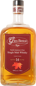 Glen Breton 14 Year Old Single Malt Whisky 750ml