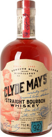 Clyde May's Bourbon 92 Proof 750ml