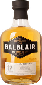 Balblair 12 Year Old 750ml