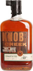 Knob Creek Twice Barrelled Rye 750ml