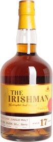 The Irishman 17 Year Old Single Malt Irish Whiskey 700ml