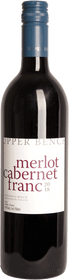 Upper Bench 2018 Merlot Cabernet Franc 750ml