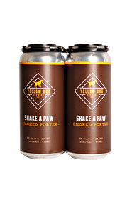 Yellow Dog Shake a Paw Smoked Porter 4 Pack 473ml