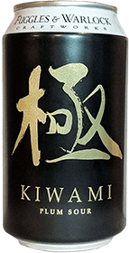Fuggles & Warlock Kiwami Plum Sour 6 Pack 355ml