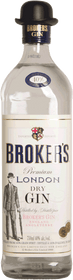 Broker's London Dry Premium Gin 750ml