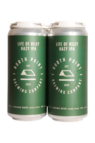 North Point Life of Riley Hazy IPA 4 Pack 473ml