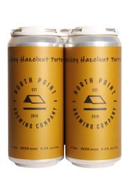 North Point Whiskey Hazelnut Porter 4 Pack 473ml