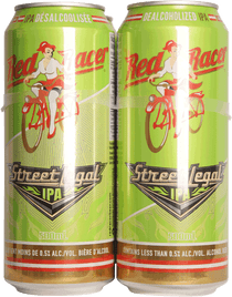Red Racer Street Legal Dealcoholized IPA 4 Pack 500ml