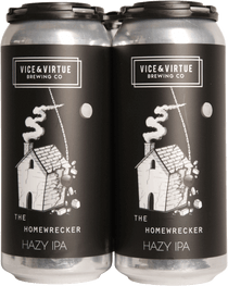 Vice & Virtue Brewing Co. The Homewrecker Hazy IPA 4 Pack 473ml
