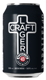 Parallel 49 Craft Lager 12 Pack Can 355ml