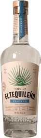 El Tequileno Platino Tequila 750ml