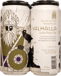 House of Funk Valhalla Wild Pale Ale 4 Pack 473ml