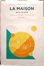 Four Winds La Maison Wild Saison 6 Pack 355ml