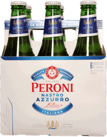 Peroni Nastro Azzurro 6 Pack 330ml