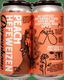 Persephone Peach Hefeweizen 4 Pack 473ml