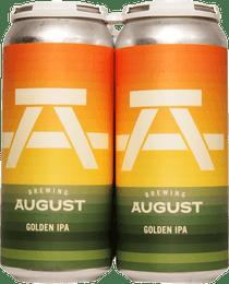 Brewing August Golden IPA 4 Pack 473ml