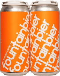 "Superflux Fountainbier ""Orange Cream"" 4 Pack 473ml"